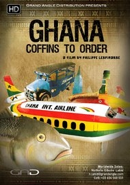 Poster of Ghana, Coffins to order
