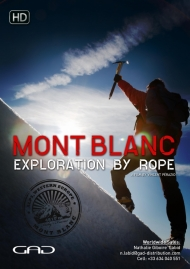 Poster of Mont Blanc, exploration by rope