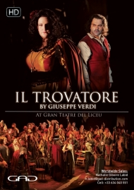 Poster of Il Trovatore by Giuseppe Verdi