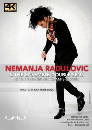 Poster of Nemanja Radulovic and the Ensemble Double Sens at the Théâtre des Champs-Élysées