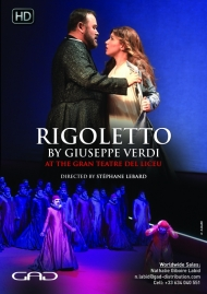 Poster of Rigoletto by Giuseppe Verdi