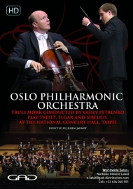 Poster of Oslo Philarmonic Orchestra & Truls Mørk directed by Vasily Petrenko in Taipei