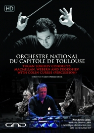Poster of Tugan Sokhiev conducts MacMillan, Webern and Prokofiev with Colin Currie