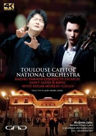 Affiche de Kazuki Yamada dirige Escaich, Saint-Saëns et Ravel  avec Edgar Moreau (violoncelle)