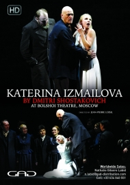 Poster of Katerina Izmaïlova by Dmitri Shostakovich at the Bolshoi Theater