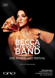 Poster of Becca Stevens Band at Nice Jazz Festival
