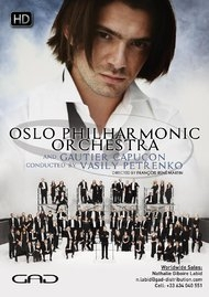 Poster of Oslo Philharmonic Orchestra and Gautier Capucon conducted by Vasily Petrenko