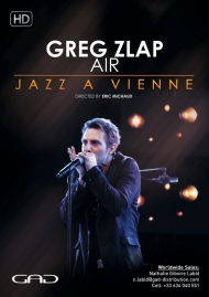Affiche de Greg Zlap - Air - Live at Jazz a Vienne