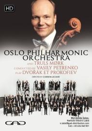 Affiche de Oslo Philharmonic Orchestra et Truls Mørk dirigés par Vasily Petrenko jouent Dvořák et Prokofiev