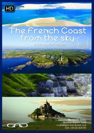 Poster of The French coast from the sky - 26x9'