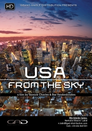 Poster of USA from the sky