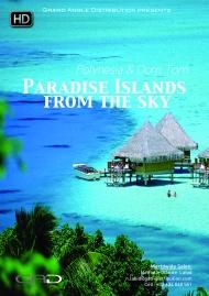 Affiche de Les Iles paradisiaques vues du ciel
