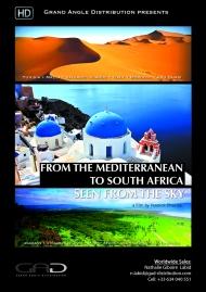 Affiche de De la Méditerranée à l'Afrique du Sud, vu du ciel