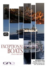 Affiche de Les bateaux insolites