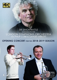 Poster of Opening concert for the 2018-2019 season - Sir Simon Rattle conducts Philip Cobb and Gavor Tarkovi