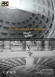 Affiche de Monuments en Mouvement - En un battement continue