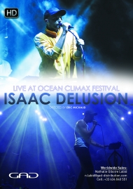 Poster of Isaac Delusion at Ocean Climax Festival