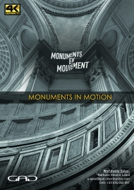 Affiche de Monuments en Mouvement - En un battement continue