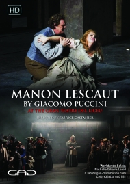 Poster of Manon Lescaut by Giacomo Puccini
