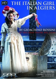Poster of The Italian girl in Algiers by Gioachino Rossini