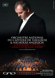Poster of Tugan Sokhiev conducts Prokofiev and Debussy with Nicholas Angelich