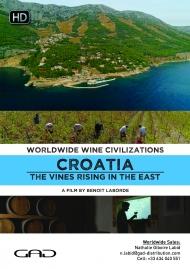 Affiche de Croatie : La vigne se lève à l'Est