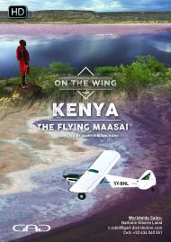 Poster of Kenya, the flying Maasai