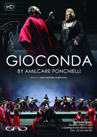 Poster of Gioconda by Amilcare Ponchielli