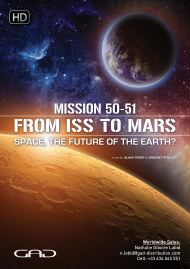 Poster of From ISS to Mars - space, the future of the earth?