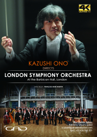 Poster of Kazushi Ono directs the London Symphony Orchestra