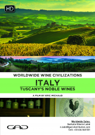 Poster of Tuscany's noble wines (Italy)