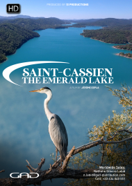Poster of Saint-Cassien, the emerald lake