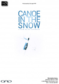 Poster of Canoe in the Snow