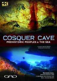 Poster of Cosquer Cave, Prehistoric peoples and the sea