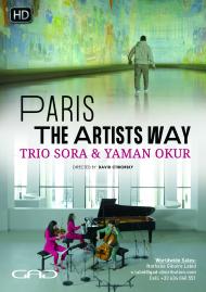 Poster of Paris, the artists way - Trio Sora & Yaman Okur