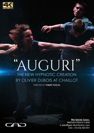 Poster of Auguri by Oliver Dubois at the Théâtre National de Chaillot