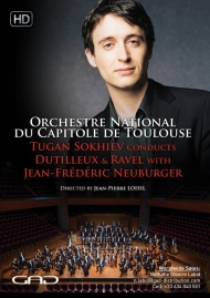Poster of Tugan Sokhiev conducts Dutilleux and Ravel  with Jean-Frédéric Neuburger (piano)