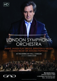 Poster of Sir Antonio Pappano conducts Janine Jansen