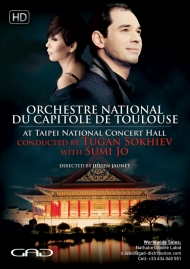Poster of Tugan Sokhiev conducts Sumi Jo at Taipei National Concert Hall