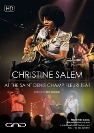 Poster of Christine Salem At the TEAT Champ Fleuri, Saint Denis