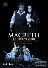 Poster of Macbeth by Giuseppe Verdi At the Gran Teatre del Liceu