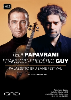 Affiche de Tedi Papavrami et François-Frédéric Guy au festival Palazzetto Bru Zane