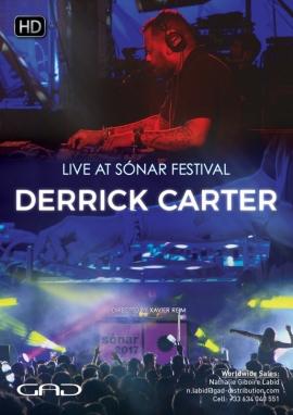 Poster of Derrick Carter at Sónar Festival 2017