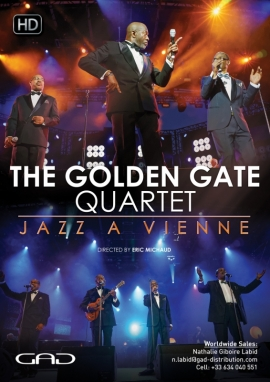 Poster of The Golden Gate Quartet – 80 years Live at Jazz a Vienne