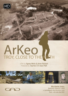 Poster of Troy, close to the myth (Turkey)
