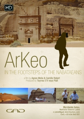 Poster of Hegra: in the footsteps of the Nabataeans (Saudi Arabia)