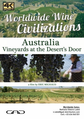 Poster of Vineyards at the Desert's Door (Australia)