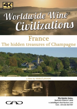 Poster of The hidden treasures of Champagne (France)