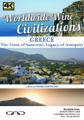Poster of The Vines of Santorini, Legacy of Antiquity (Greece)