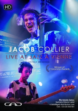 Poster of Jacob Collier at Jazz à Vienne